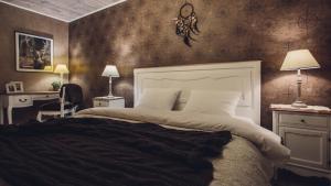 Łóżko lub łóżka w pokoju w obiekcie Main Street Apartments