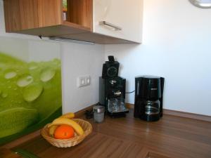 Küche/Küchenzeile in der Unterkunft Ferienwohnung Im Wiesle