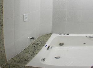Um banheiro em Pousada do Sol de Cabo Frio