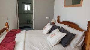 Cama o camas de una habitación en Casa Mica