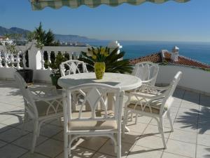 En balkong eller terrass på Ladera del Mar