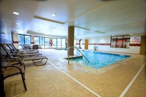 The swimming pool at or near Hampton Inn & Suites East Hartford