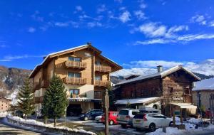 Francesin Active Hotel durante l'inverno