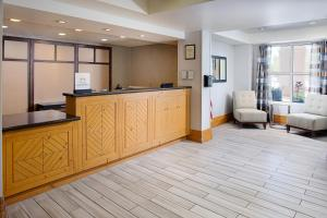 The lobby or reception area at Homewood Suites by Hilton Albuquerque Uptown