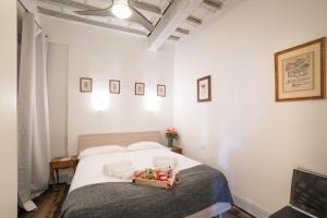 Cama o camas de una habitación en Agnolo