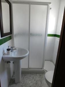 A bathroom at Alojamiento Mª Carmen