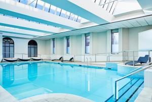 The swimming pool at or near Glasgow Marriott Hotel