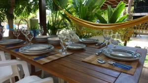 A restaurant or other place to eat at Casa Andrea