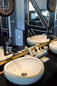 Een badkamer bij Casa de Hilario