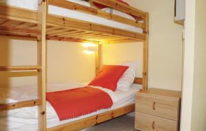 """A bunk bed or bunk beds in a room at Apartment """"Zeezicht"""""""