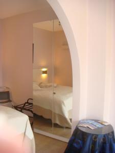 Een badkamer bij Gastenkamers Centersuites