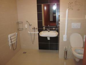 Koupelna v ubytování Wellness Resort Energetic