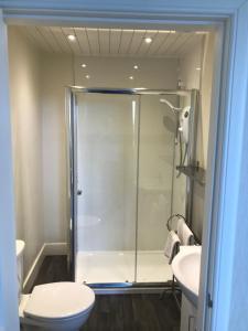 A bathroom at The Shorehouse