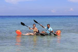 Canoeing at the resort or nearby