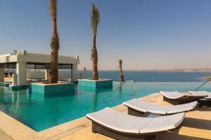 The swimming pool at or near Hilton Dead Sea Resort & Spa