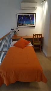 Cama o camas de una habitación en Enginyapartaments