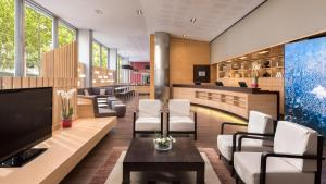 The lounge or bar area at Four Points by Sheraton Barcelona Diagonal
