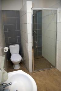 Kúpeľňa v ubytovaní Hotel Monika