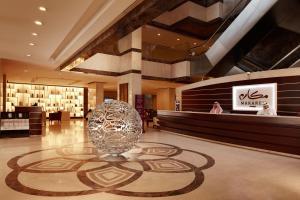 O saguão ou recepção de Makarem Umm Al Qura Hotel