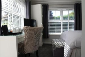 A seating area at The White Horse View B&B
