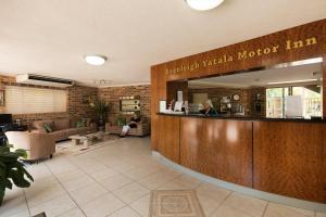 The lobby or reception area at Beenleigh Yatala Motor Inn