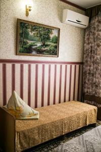 Кровать или кровати в номере Guest House Ludmila