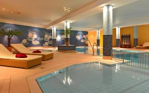 The swimming pool at or near Strandhotel Seerose