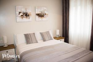 Cama o camas de una habitación en Pelamios House