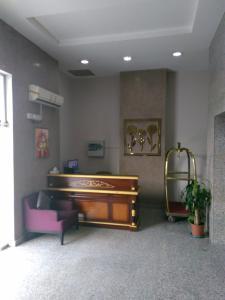 O saguão ou recepção de Awali Rose- Awali District Makkah