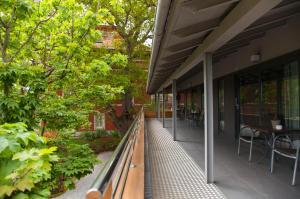 A balcony or terrace at Apartamentos Casona de la Paca