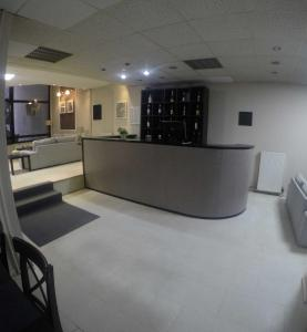 The lobby or reception area at Apartment Hotel Athina