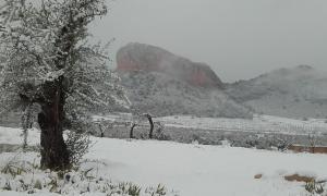 El Palomar de Peñarrubia during the winter