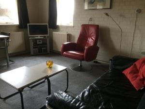 Een zitgedeelte bij Vlinderhuis 21B
