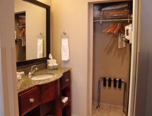 A bathroom at Homewood Suites by Hilton Bloomington
