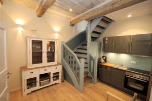 Küche/Küchenzeile in der Unterkunft Gästehaus Malerwinkel