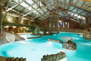 The swimming pool at or near Disney's Davy Crockett Ranch
