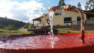 The swimming pool at or near Jardim dos Sonhos