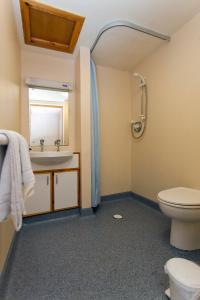 A bathroom at West Park Summer Campus