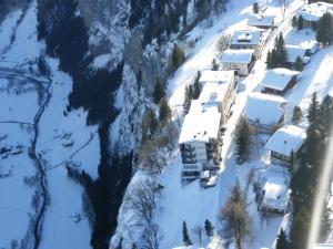 A bird's-eye view of Hotel Alpina
