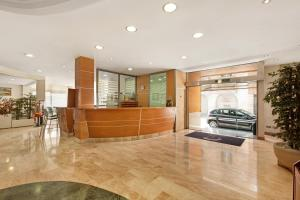 The lobby or reception area at Abelux