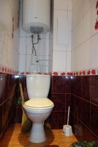 Ванная комната в Apartments on Anfinogenova