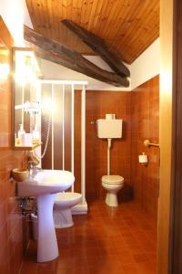 A bathroom at Albergo Due Spade