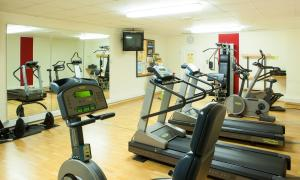 The fitness center and/or fitness facilities at Hotel Eifelkern