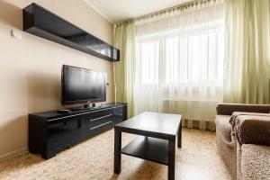 Телевизор и/или развлекательный центр в Apartments on Lenina street