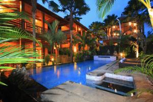 The swimming pool at or near Budhi Ayu Villas and Cottages Ubud