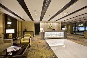 The lobby or reception area at Ambassador Transit Hotel - Terminal 3