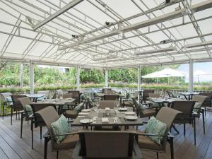 A restaurant or other place to eat at The Wauwinet Nantucket