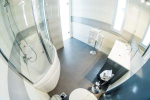 A bathroom at Hydrele Beach Hotel & Village