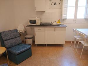 Cuina o zona de cuina de Hostal Juventus