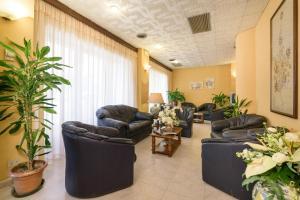 Hall o reception di Hotel Morchio